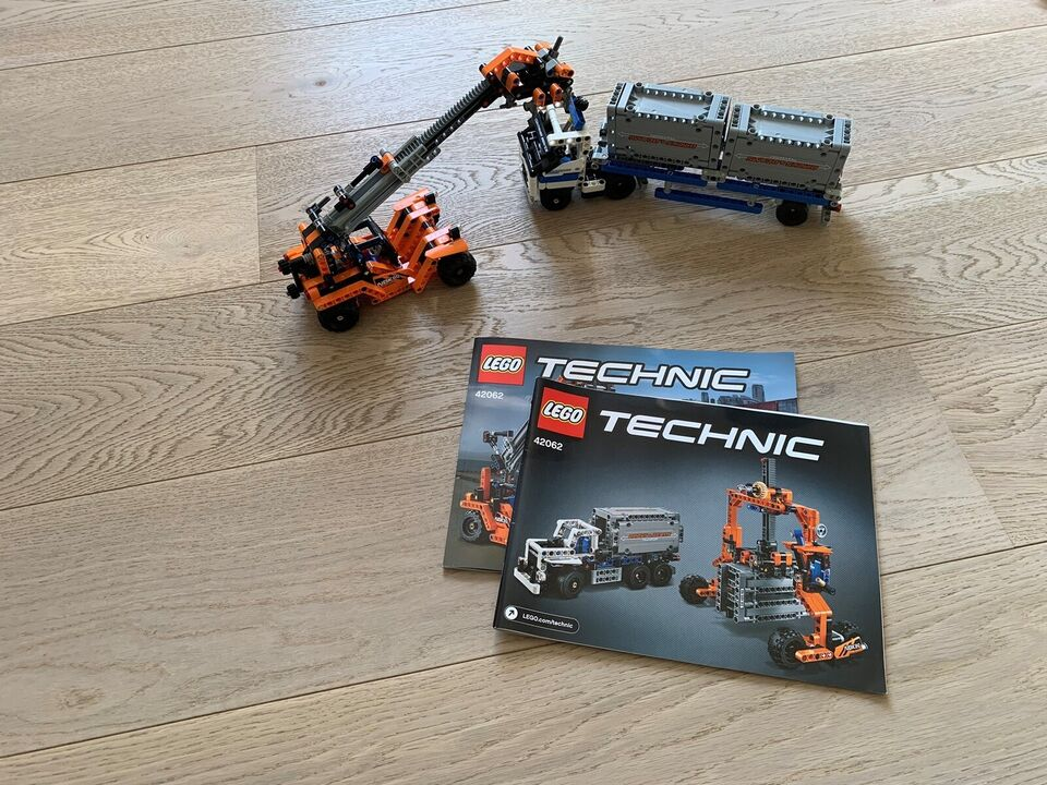 Lego Technic, Containertransport