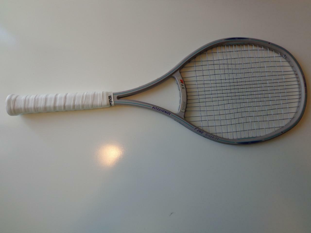Rossignol F290 Taille Moyenne Made in France 4 1 2 grip raquette de tennis