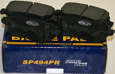 SCT Bremsbeläge SP494PR Bremsklötze Bremsbelagsatz hinten Opel Chevrolet Kia