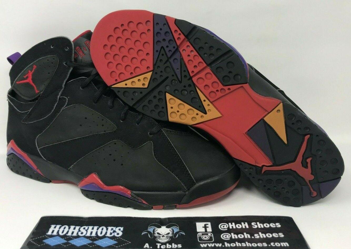Air Jordan 7 VII Raptors (2002) 304775-006 Dimensione 10.5 with replacement scatola  Sautope classeiche da uomo