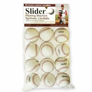 Heater-Sports-Slider-Lite-Synthetic-Leather-Pitching-Machine-Baseballs