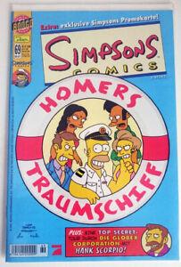 SIMPSONS-COMICS-HEFT-Nr-69-EXTRA-PROMOKARTE-Originalverpackt-deutsch-NEU