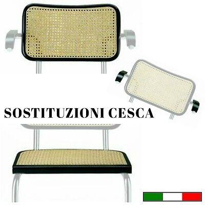 Sedia Cesca Ricambio Sedile Schienale E Braccioli Color Naturale O Nero Ebay