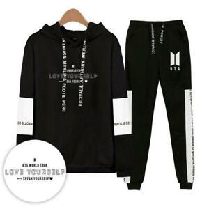 2019 Kpop Bts Preocupacia N Habla Usted Mismo Sudadera Con Capucha Suga Jimin Jin V Pantalones 02 Ebay