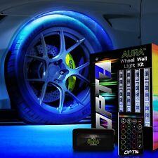 OPT7 All-Color Wheel Well LED Light Kit  4pc Custom Accent Neon Strips Rim Tire
