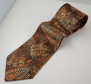 Designer Seiden-schlips Enrico Rossini Herren Business Krawatte. 5y4