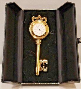 Attona-Clock-brass-skeleton-key