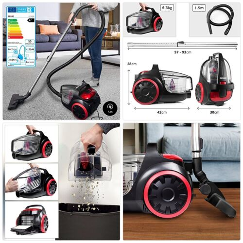 Duronic Bagless Cylinder Vacuum Cleaner VC5010