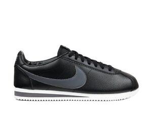 Leather dark Uk Classic 011 white 749571 New 44 5 Nike Cortez 5 Eur Black Grey 9 wnE1g1TPqx