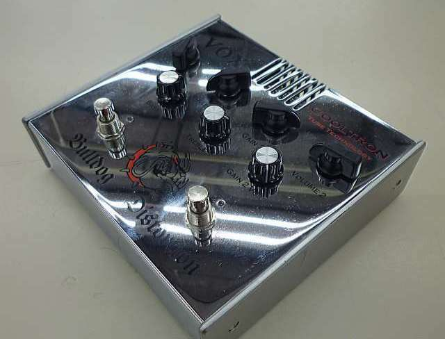Used  VOX Bulldog Distortion Cooltron Tube 2ch Guitar Effect Pedal