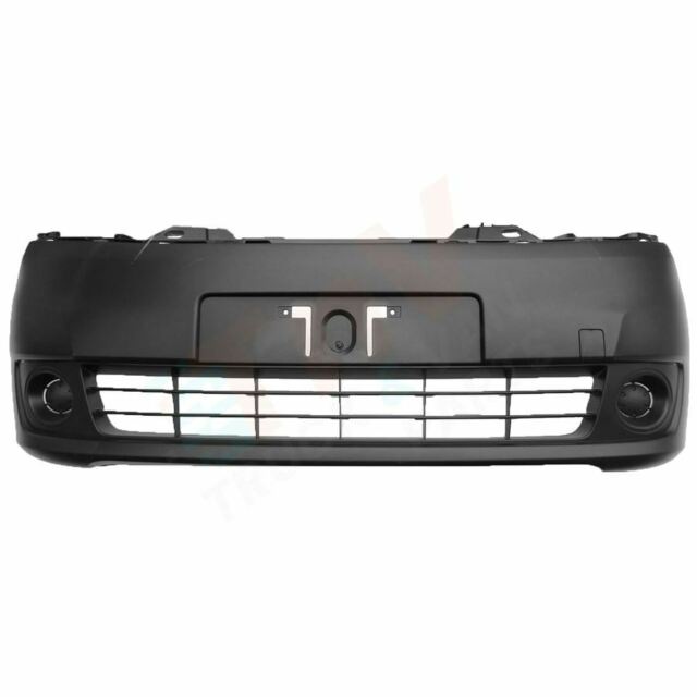 Poliplast Front Bumper in Black Fits Nissan NV200 2010+ Onwards TUV Certified
