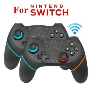 2 Pcs Wireless Pro Controller Gamepad Joypad Remote for Nintendo Switch Console