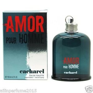 Details oz 125 Amor Homme Fl For 2 Spray Toilette Pour About De Men 4 Eau Ml Cacharel BeCodx
