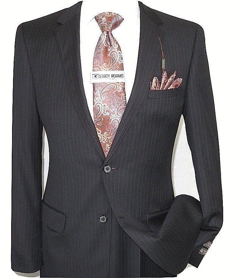 Herren Wolle Kaschmir Schwarze Streifen Business Anzug Giorgio Cosani Zwei Knopf   | Kaufen  | Bestellungen Sind Willkommen  | Verschiedene Arten Und Die Styles