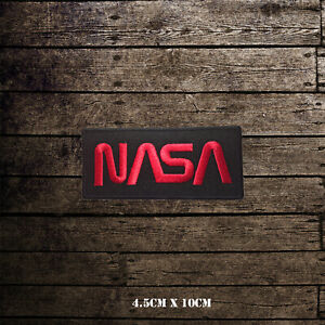 NASA USA Embroidered Iron On Sew On Patch Badge For Clothes etc