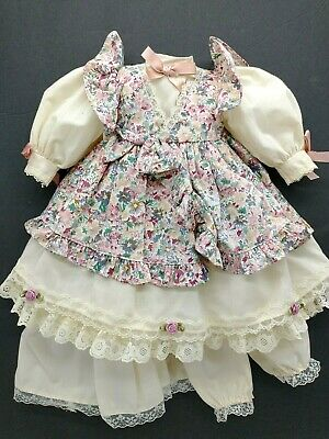 Pink Paisley Print Cowgirl Dress for 18 Dolls