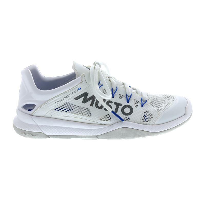 Musto Dynamic Pro II, Triple Weiß Reflective, schnelltrocknend, Grip Deck Sohle     |  | Verrückter Preis  | Stabile Qualität