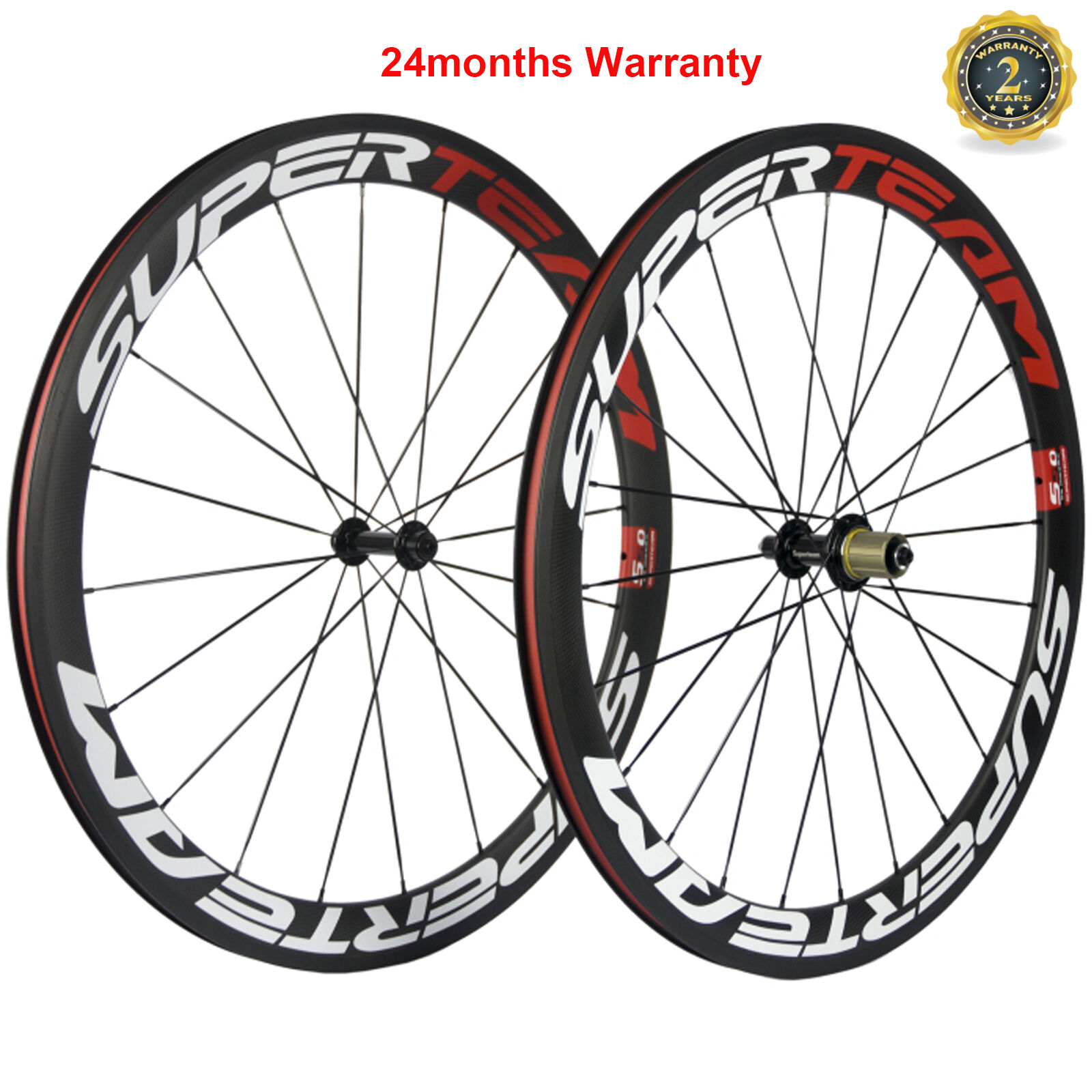 Carbon Wheels 50mm Clincher Road Bike Wheelset 700C 3k Matte  Powerway R13 Wheels  customers first