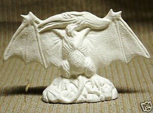 Ceramic-Bisque-Pterodactyl-Dinosaur-Nowell-Mold-1889-U-Paint-Ready-To-Paint