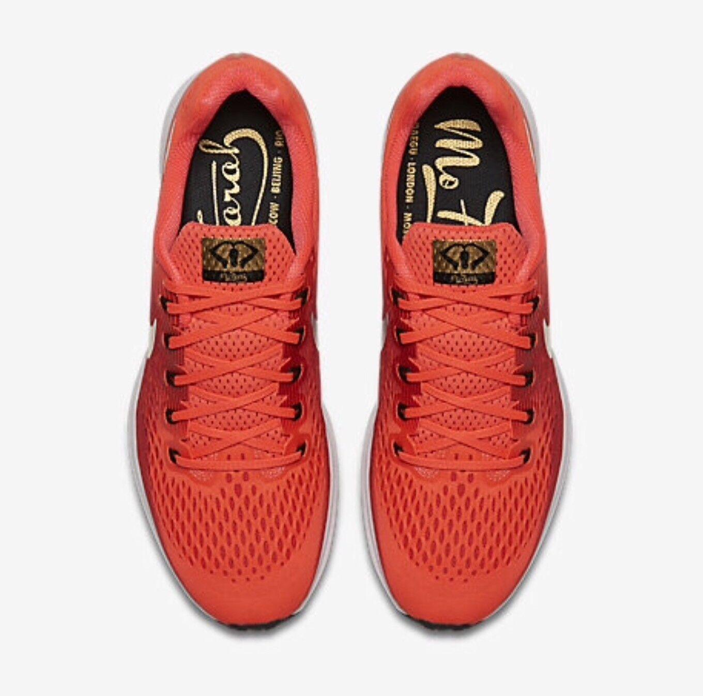 Nike Air Zoom Pegasus 34 MO FARAH Limited Edition Men's shoes Size UK 9 11