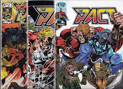 NM THE ALLIANCE #1-#3 SET INCLUDES 3 VARIANT COVERS