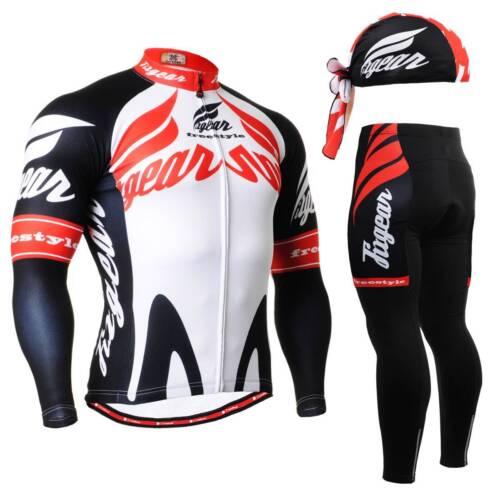 FIXGEAR CS-1201 SET Cycling Jersey /& Padded Pants,MTB Bike,BMX,Beanie Free GIFT