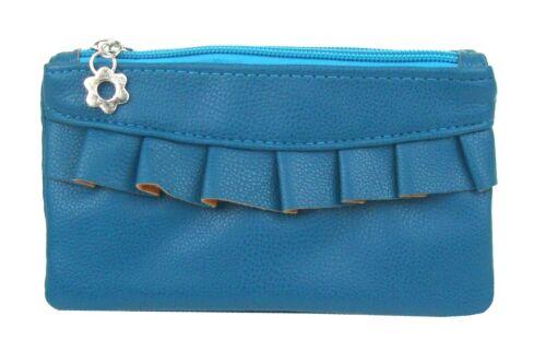Ella Jonte kleine Tasche blau oder schwarz Schminktasche Kosmetiktasche 2 Fächer