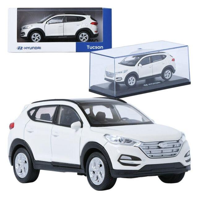 Pino B D Hyundai Tucson Tl White 1 38 Display Mini Car Miniature