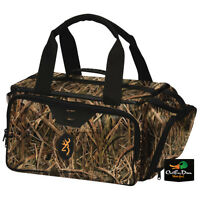 Browning Flyway Blind Bag Duck Hunting Gear Pack Shadow Grass Blades Camo