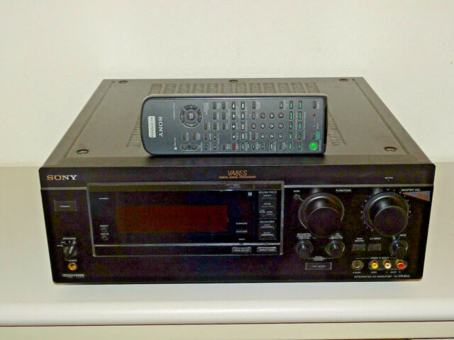 Sony TA-VA8ES High-End Stereo Verstärker Schwarz, inkl. FB, 2 Jahre Garantie