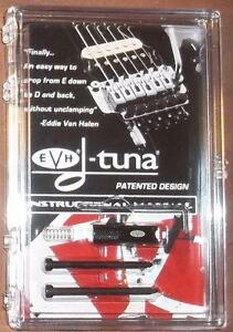 EVH-D-Tuna-Drop-D-Tuning-System-For-Floyd-Rose-Bridges-Black-USA-Brand-New