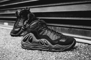 Details about NEW Nike Air Max Uptempo '97 Triple Black Sz 7.5 Pippen 399207 005 Penny Jordan