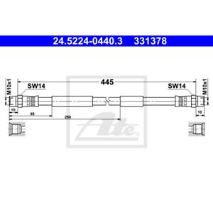 ATE 24.5224-0440.3 Bremsschlauch