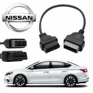 OBD-a-OBD2-14-16-pins-Voiture-CodeLecteur-Diagnostique-Adaptateur-Cable-NISSAN