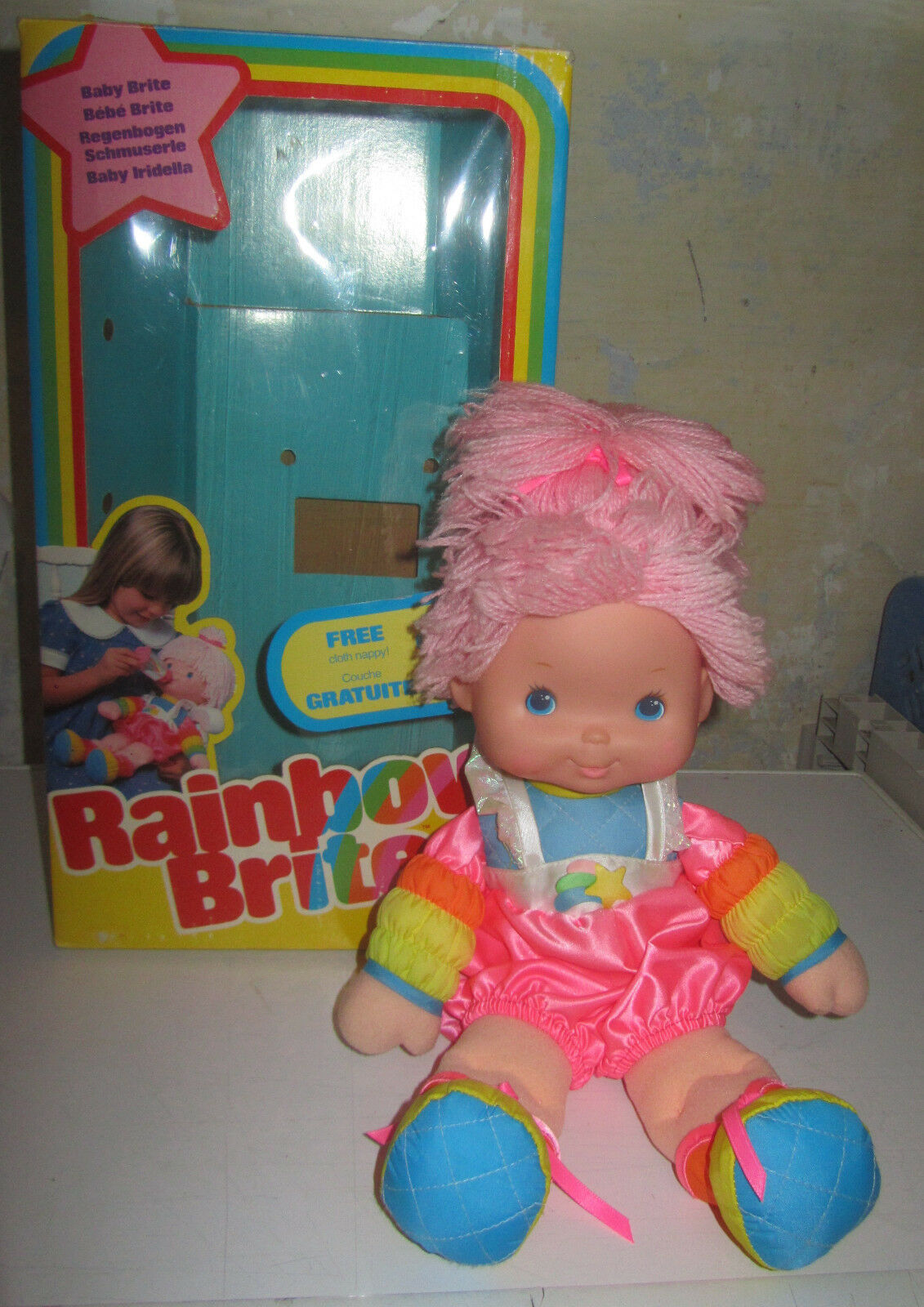 Bambola Iridella Rainbow Baby Brite SPESE GRATIS