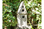 Gothic-Victorian-Hand-Made-Wooden-Church-Inspired-Bird-Box-Nesting-Box miniatura 1