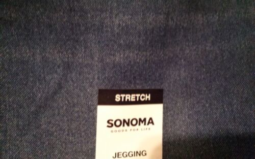 """Girls/' SONOMA /""""Goods For Life/"""" Stretch Blue Jegging Jeans Sizes 4-5-6 or 6X NWT"""
