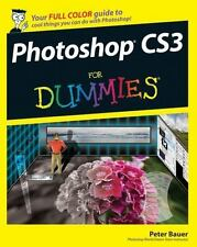 Photoshop CS3 For Dummies (For Dummies (Computers)), Bauer, Peter, Good Book