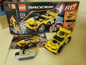 LEGO-Racer-Track-Turbo-RC-8183-Complete-with-box