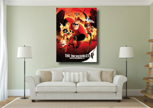 The Incredibles Kids Classic Movie Poster Large Wall Art Print A0 A1 A2 A3 A4