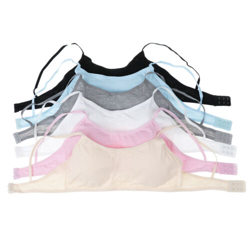 Teen girls underwear soft padded cotton bra young girls for yoga sports bra T/_ti