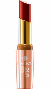 Lakme-9-to-5-lip-color-3-6-g-Red-Coat-R1-FREE-amp-FAST-SHIPPING
