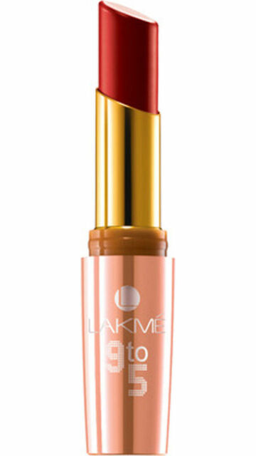 Lakme 9 to 5 lip color 3.6 g (Red Coat - R1) - FREE & FAST SHIPPING