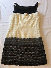 Women's BEHNAZ SARAFPOUR For Target Lace Multi Sleeveless Dress SZ 5