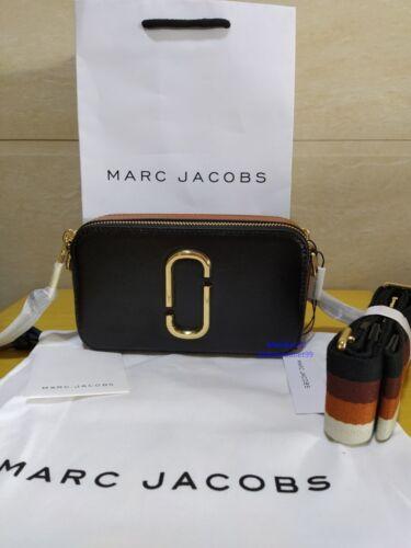 HOT vendita Marc Jacobs Snapshot piccola Camera Bag Black Multi.