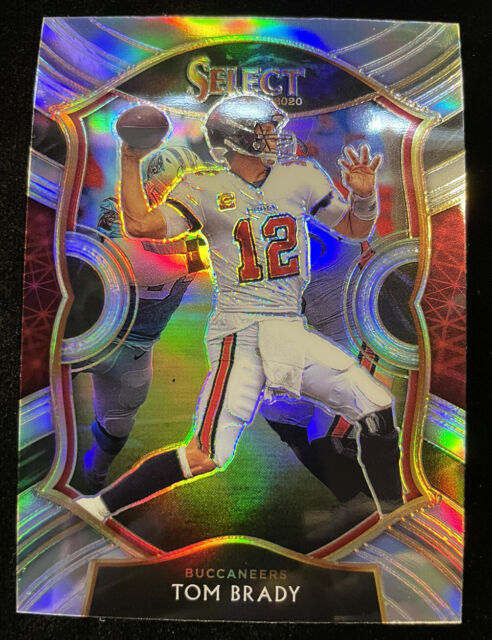 2020 Panini Select Tom Brady #1 Concourse SILVER PRIZM Tampa Bay Buccaneers