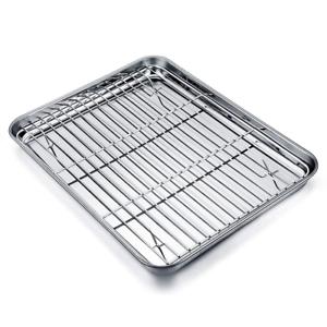 Teamfar Stainless Steel Baking Pan Cookie Sheet With