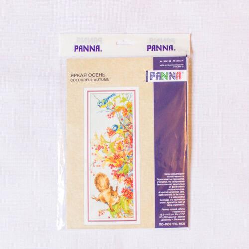 """Cross Stitch Kit Panna PS-1905 /""""Coloré Automne/"""""""