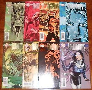 Inhumans-Marvel-2003-Series-1-2-3-4-5-6-7-9-Lunar-McKeever-Set-Run-TV