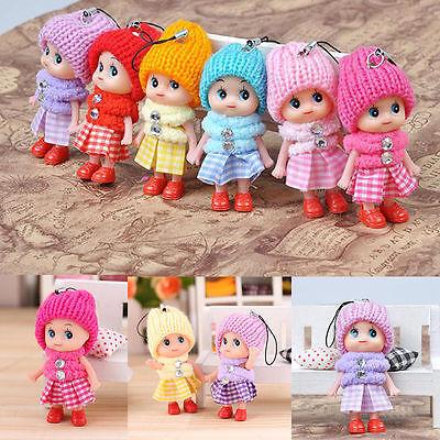 2 jouets pour enfants doux interactif poupée accessoires de téléphonie mob trim8